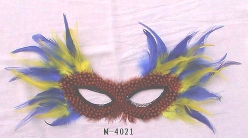 Cheap feather masks for sale - Made in China M-4021