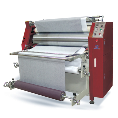 Roller Type Sublimation Transfer Machine (with rewinding function )