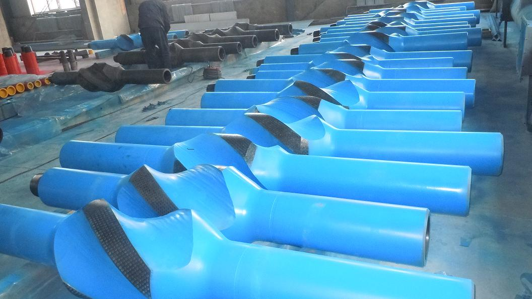 Api AISI 4145H forged oilfield drilling spiral integral blade stabilizer/drilling stabilizers