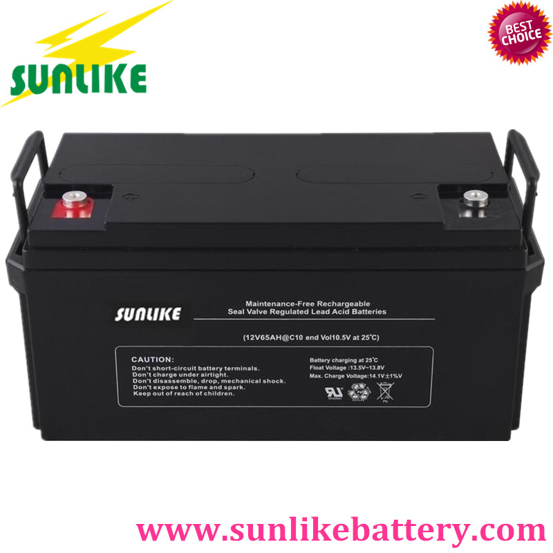 Sunlike battery / gel battery / solar battery / deep cycle battery