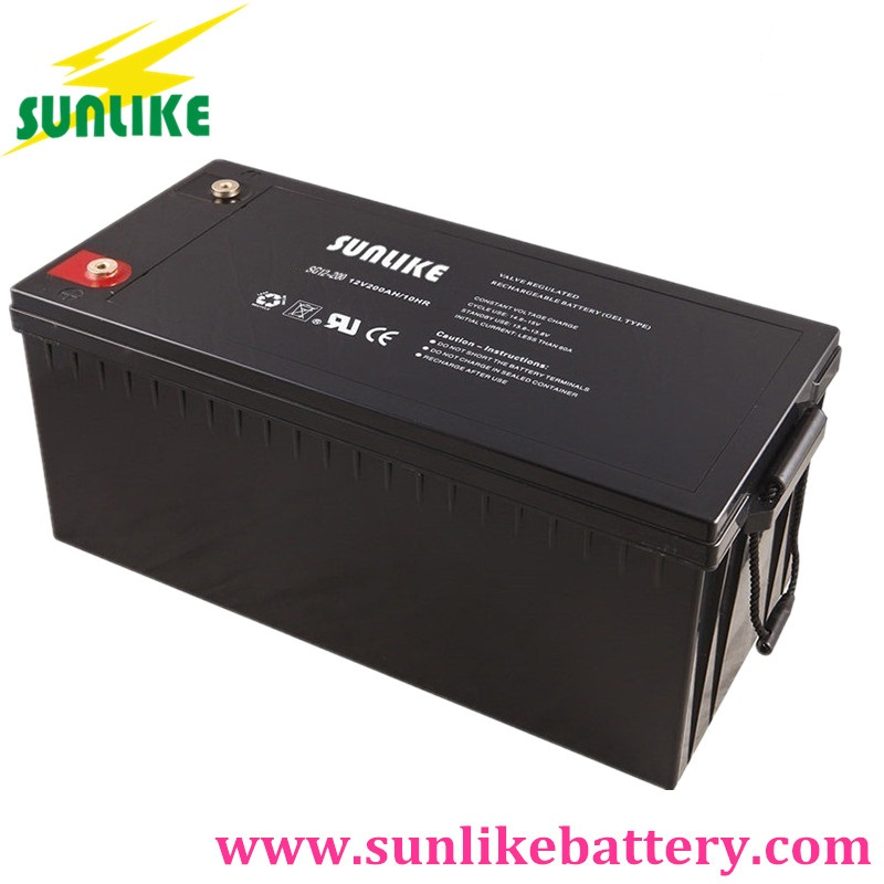 gel battery / solar gel battery / deep cycle battery