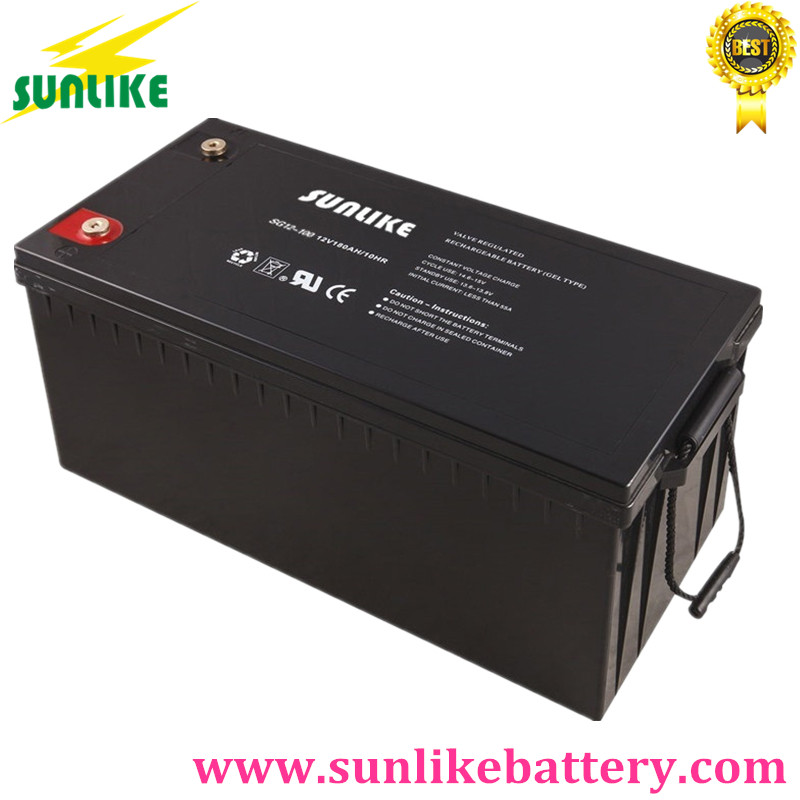 12V100ah Deep Cycle Gel Battery for Solar Power