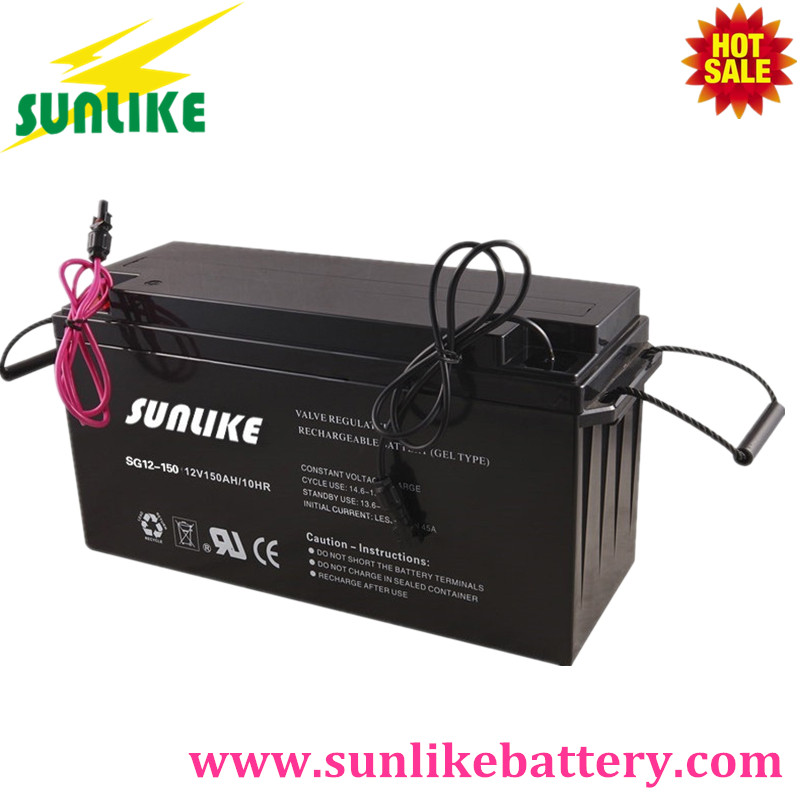 AGM Gel Battery, Sealed Maintenance Free Battery, Solar Gel Battery