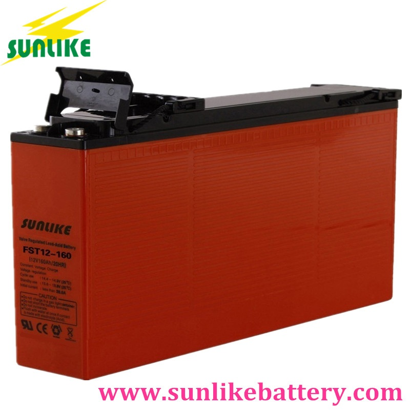 communication battery, telecom battery, front terminal battery