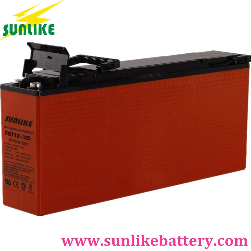 front terminal battery, lead acid battery, solar battery