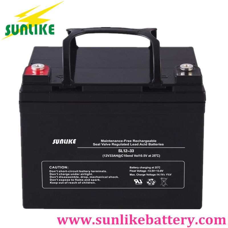 solar power battery, ups battery, deep cycle battery 12v18ah