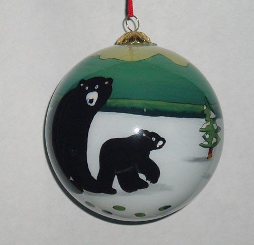 Inside painting glass arts ornaments li bien ornaments for Painted glass ornaments crafts