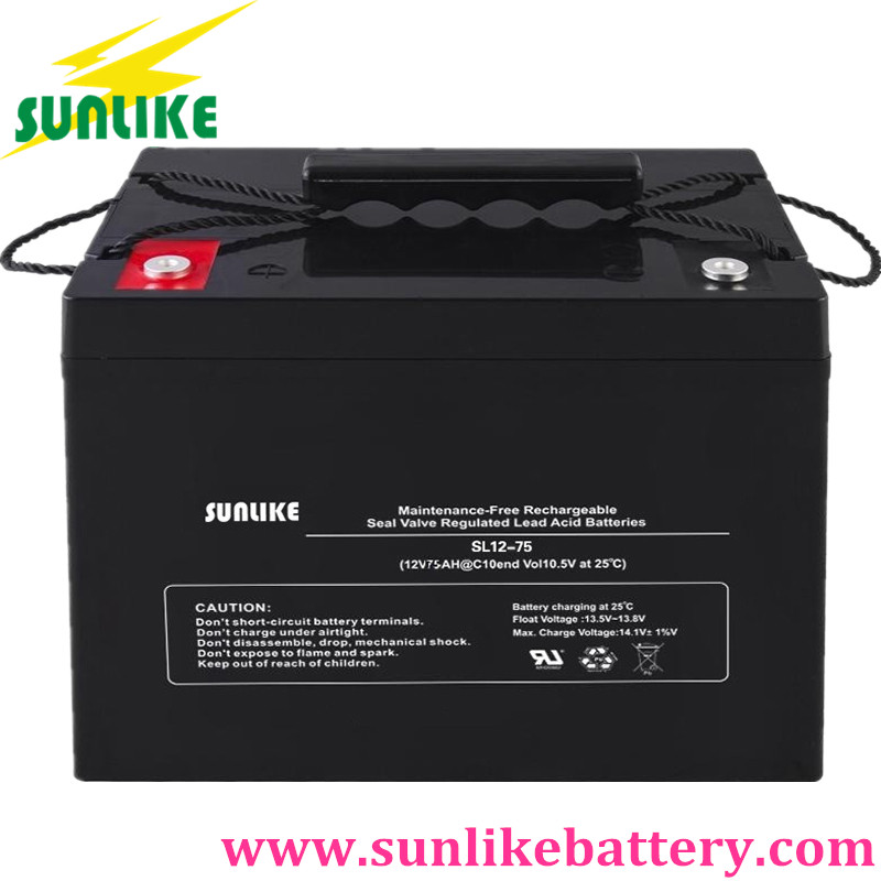 sunlike battery, solar gel battery, vrla/sla battery