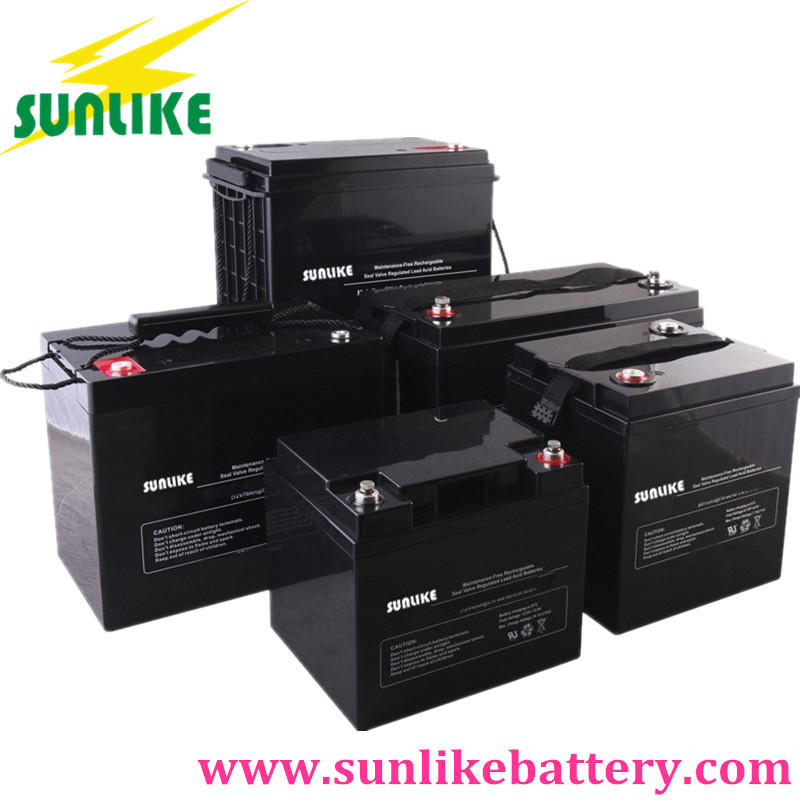 12V deep cycle battery, lead acid battery, AGM battery