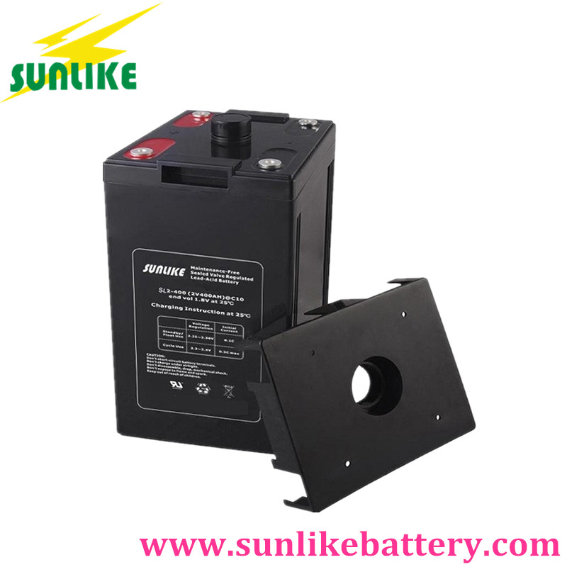 2v valve regulated lead acid battery, sla battery, solar battery
