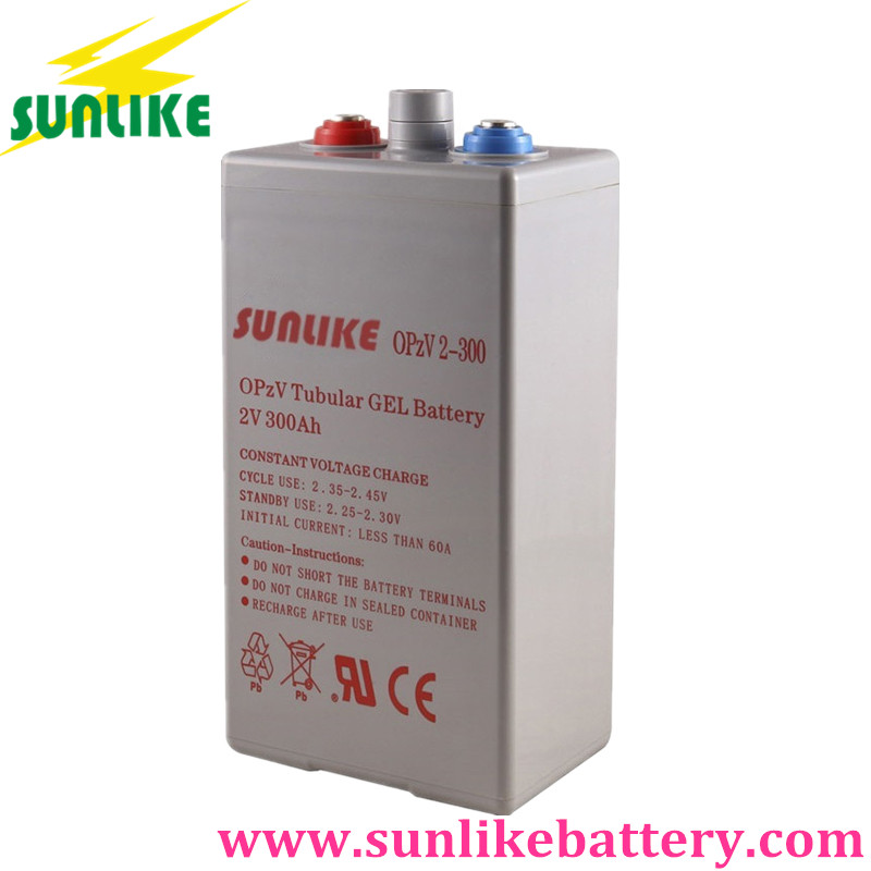 OPzV Battery, Gel Battery, Tubular Battery, Deep Cycle Battery