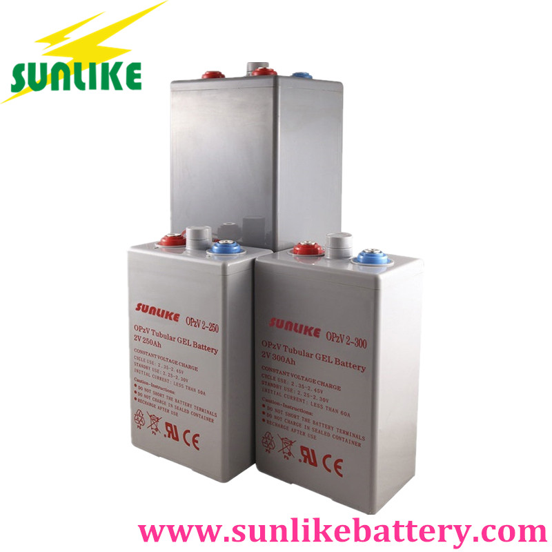 OPzV Tubular Gel Battery 2V