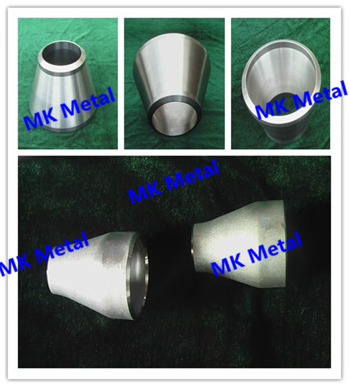 Grade 9 ASTM B363 Titanium and Titanium Alloy Reducing Pipe