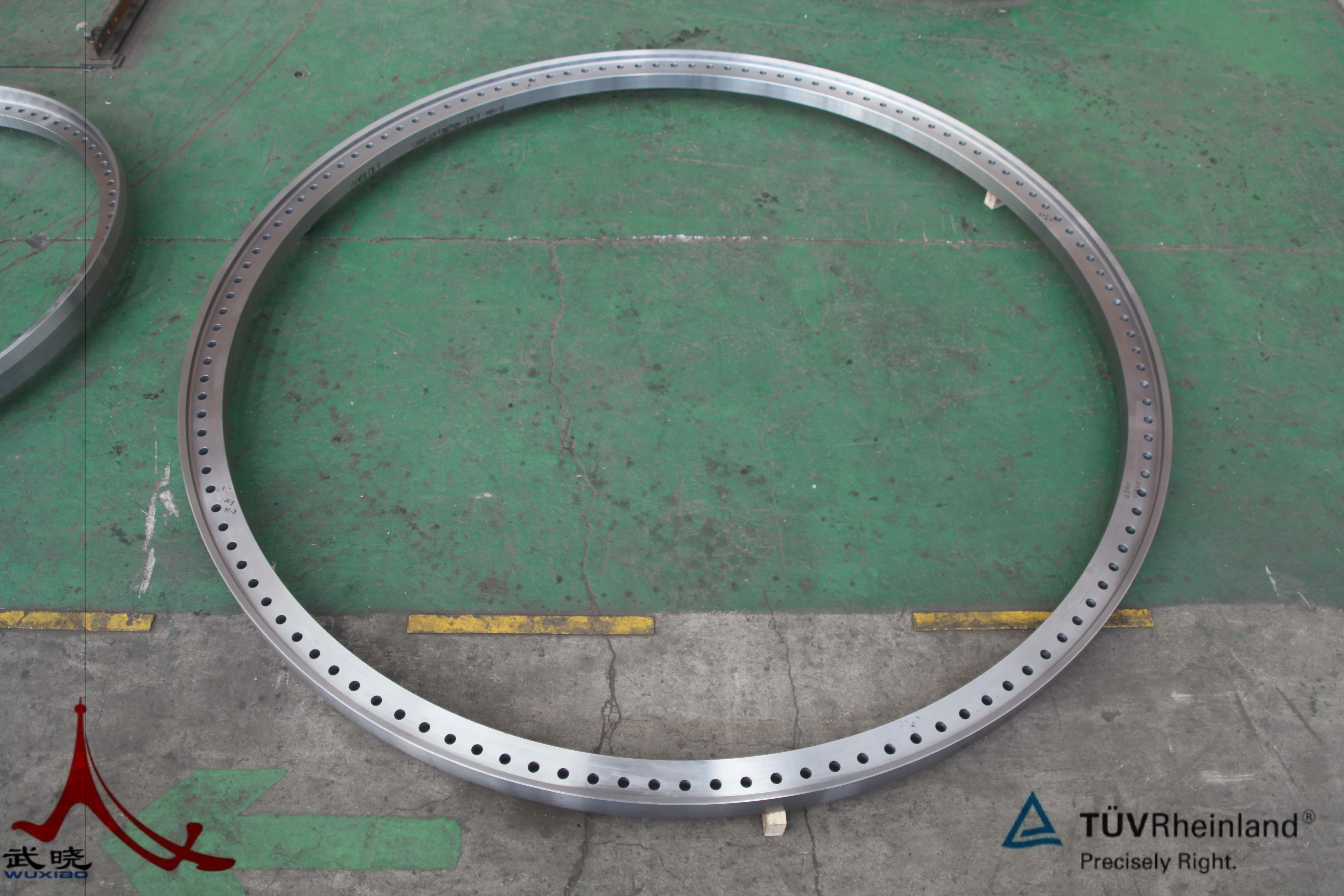wind forged flange