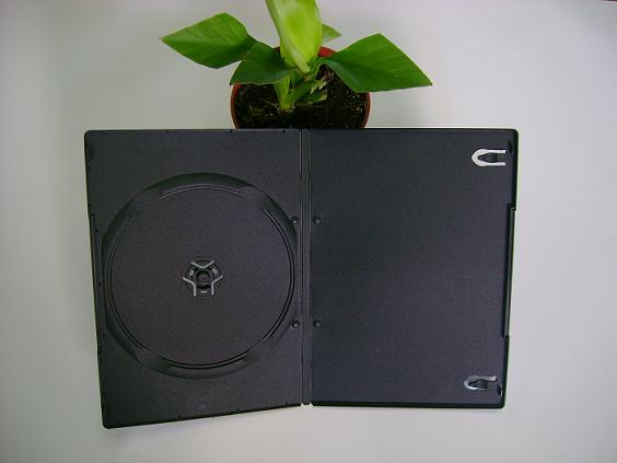 7mm single and double black DVD case