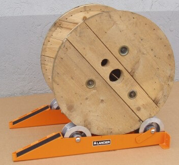 track type cable drum jacks