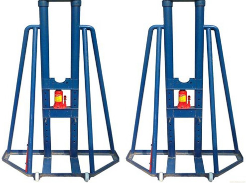 Simple cable reel payout stand/cable drum stand/cable jack stand/cable box stand