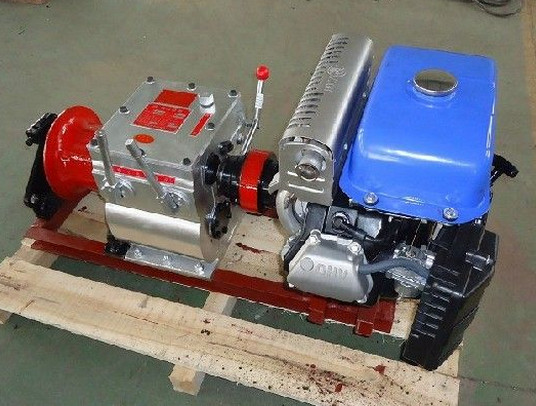 electric transmission line cable winch