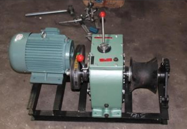 belt drive or shaft drive, cable winch
