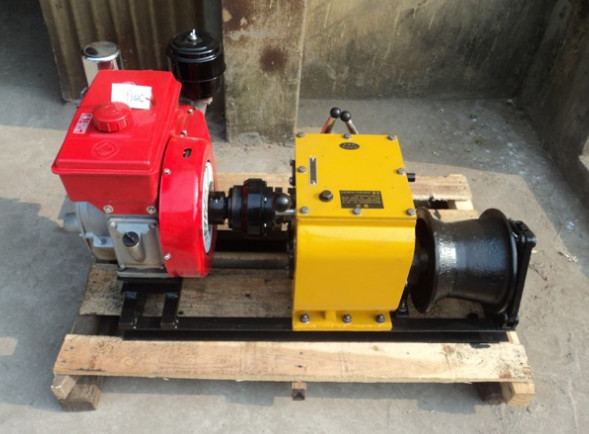 cable traction machine, cable winch