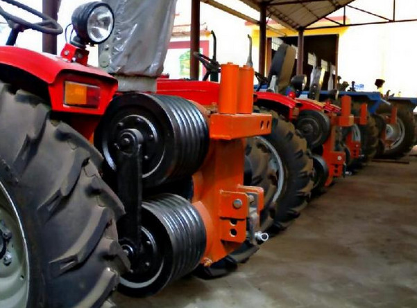 Walking tractor winch supplier