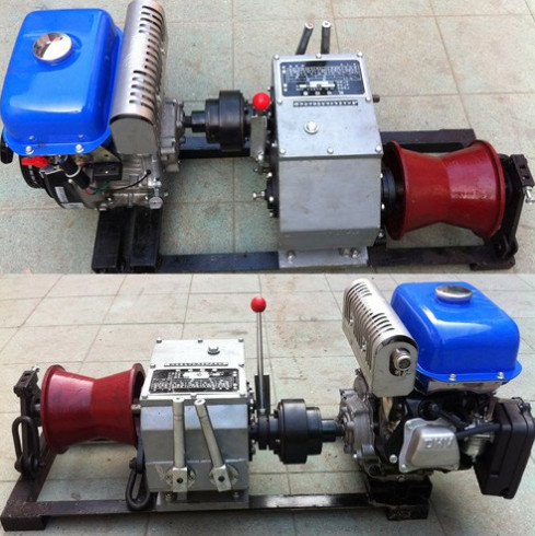 cable winch, wire rope winch