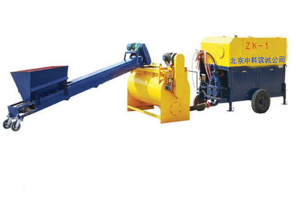 zk-1 foamed cement casting machine introduction