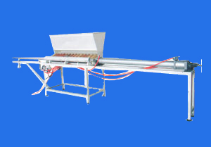 Paper tube loading and unloading machine