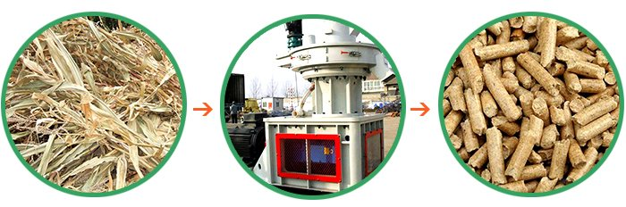 Straw Pellet Mill/Straw Pellet Mill Price/Ring Die Straw Pellet Mill
