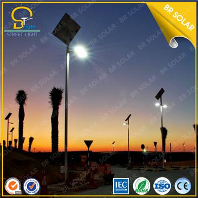 6M 30W LED Solar Street light main road park pathway