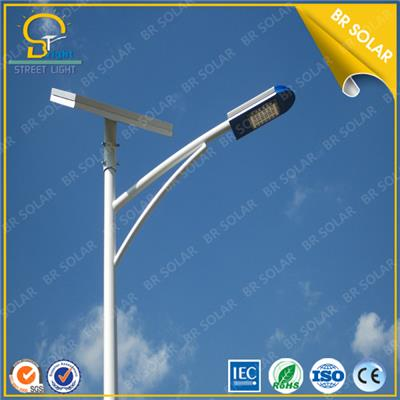 China off-grid design 12V 30W LED street lights system with 6m pole