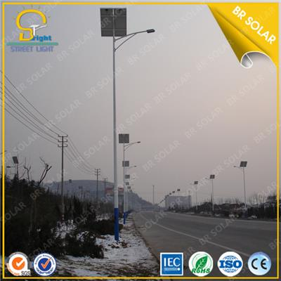 60W LED Sun Power Street Lights 12Hours/night lighting design