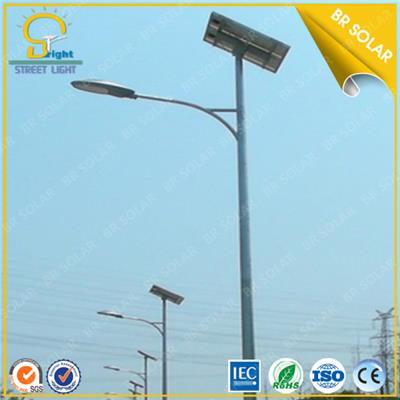 CE, SONCAP, FCC approved 30W-120 LED Solar Street Lights