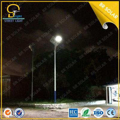 High Lumen 130LM-150LM/W 120W LED Solar Street Lighting