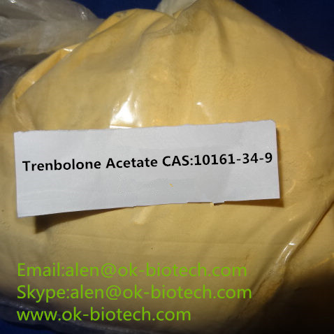 Trenbolone Acetate Trenbolone Steroids Powder Source CAS 10161-34-9 for Anti Aging