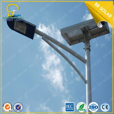 Double Arms Solar led street lighting CE SONCAP approved