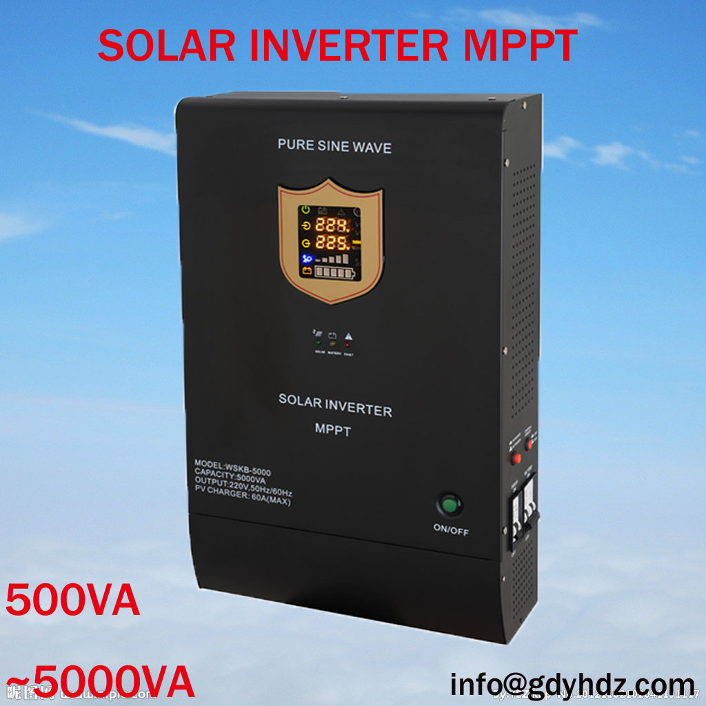 Hybrid Solar Inverter/STand-alond solar inverter with built-in MPPT Controller