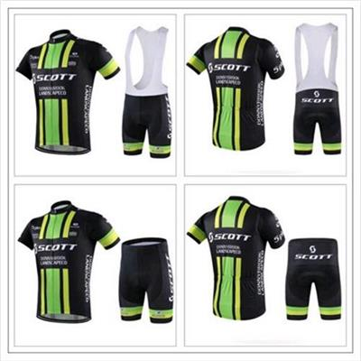 Men's Summer Shorts/Riding Suit/outdoor Bike Clothing Bib Pant Green Color