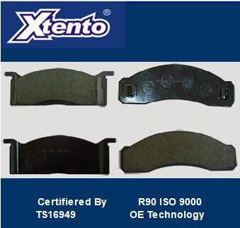 HYUNDAI SEMI METALLIC BRAKE PAD