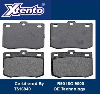 KIA SEMI METALLIC BRAKE PAD