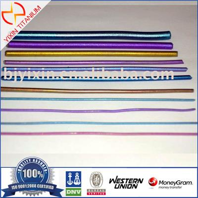 Titanium Colored Wire (Anodizing Coloring /Electroplating) For Decoration