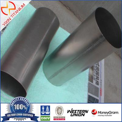 Hot Sale ASTM B338 GR2 Weld Titanium Tube