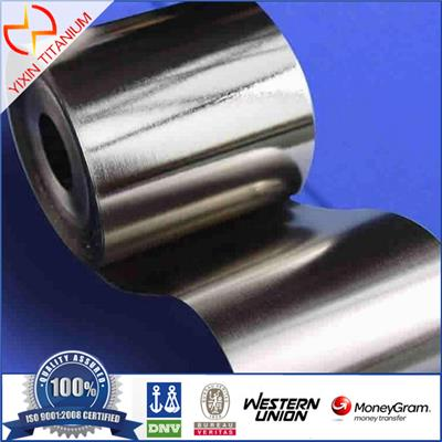 Gr2 Titanium Foil Thickness 0.03mm For Electroplating Equipment