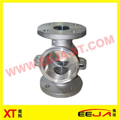 Pump Valve Stainless Steel Low Pressure Die Casting