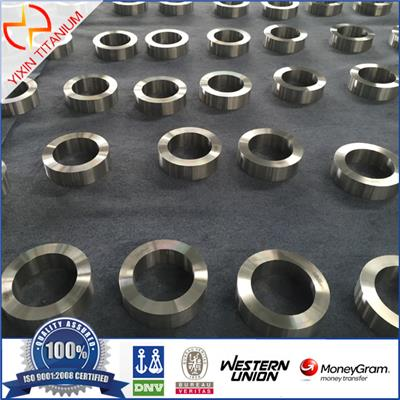 GR5 Titanium Forged Ring With Low Price For Industry Using