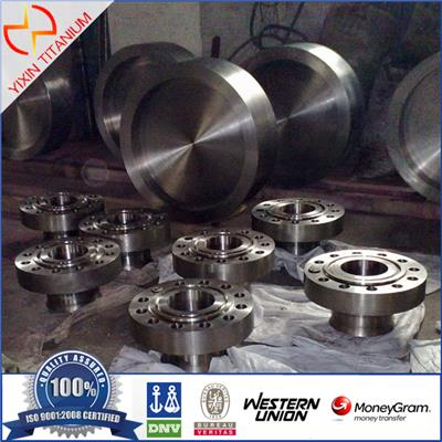 Titanium Forged Flange With Different Grade As Per PN Requirements
