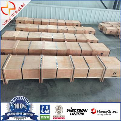 Yixin Titanium Bar Packing With Wooden Case