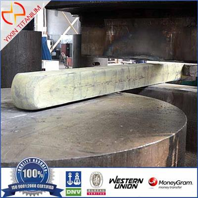 Titanium Gr2 Flat/Square Bar Forging
