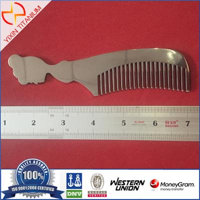 GR5 Titanium Comb With High Quality