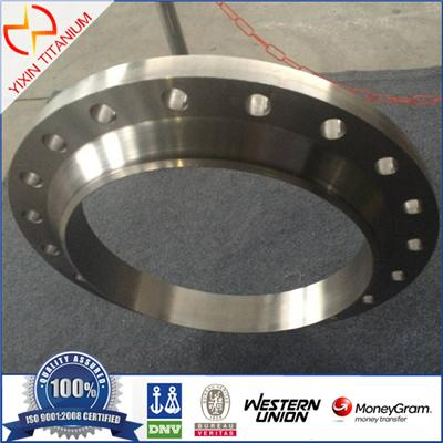 AMSE/ANSI 16.5 High Quality WN500 Titanium Pipe Flange For Manhole Flange
